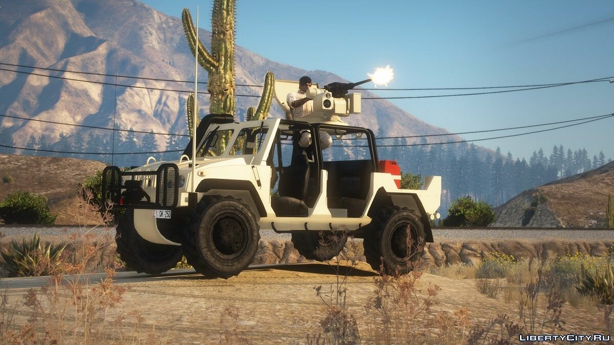 Other car Iveco Lince [Replace] 1.1 for GTA 5