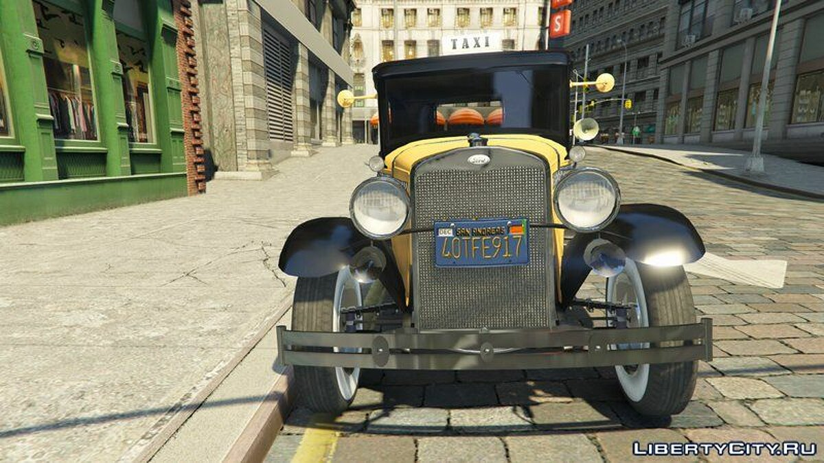 Other car Taxi from Mafia for GTA 5