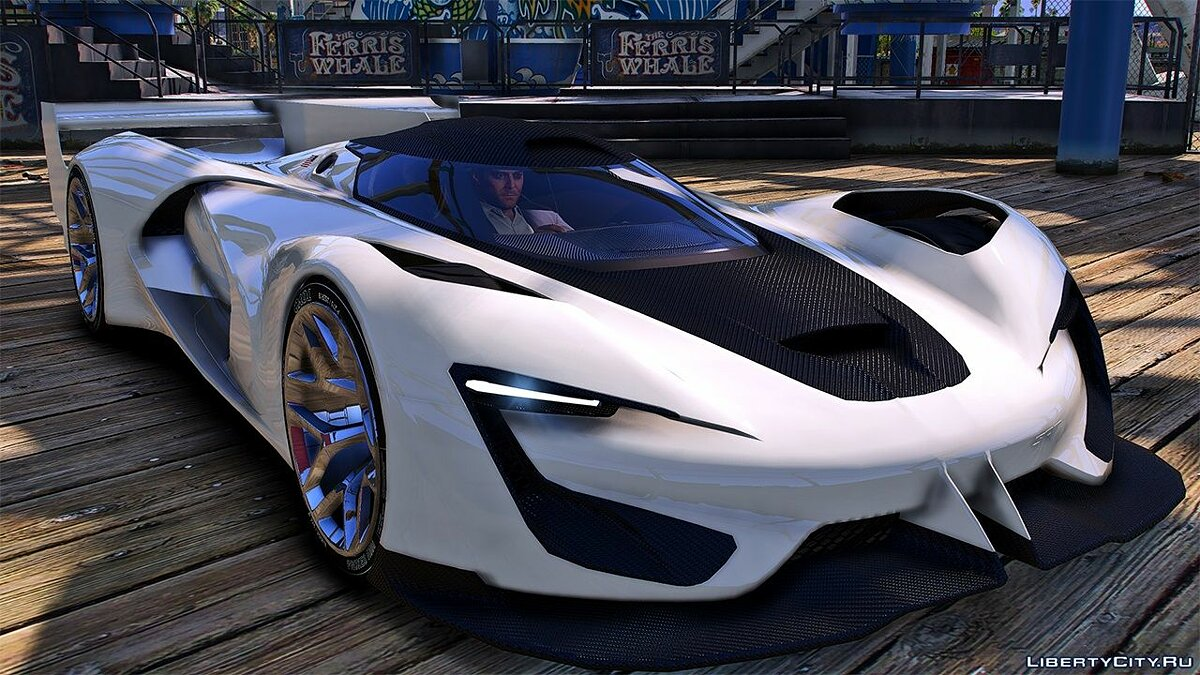 Other car SRT Tomahawk Vision Gran Turismo Gr. 1 [Add-on | Livery | Unlocked] for GTA 5