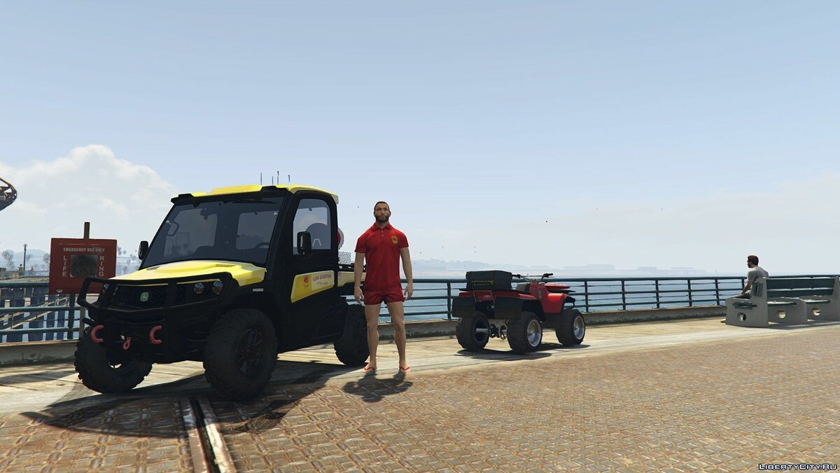 Other car Buggy Lifeguard [Replace] 1.0 for GTA 5