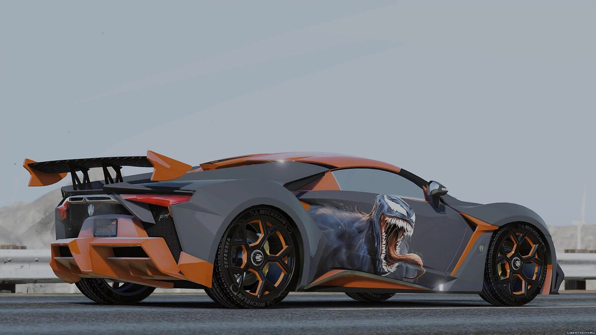 Other car 2019 W Motors Fenyr Supersports 1.0 for GTA 5