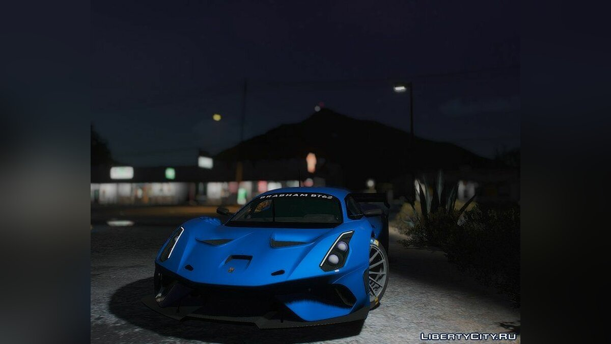 Other car 2019 Brabham BT62 [Add-On] for GTA 5