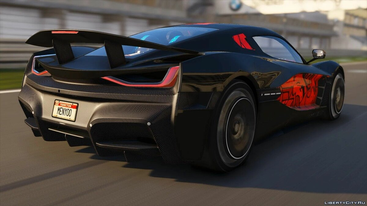 Other car Rimac Concept 2 2019 [Add-On   Extras   Template] 1.2 for GTA 5