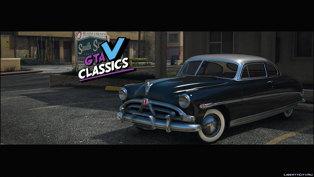 Other car 1952 Hudson Hornet [Add-On   Extras   LODs   Template] 1.0 for GTA 5