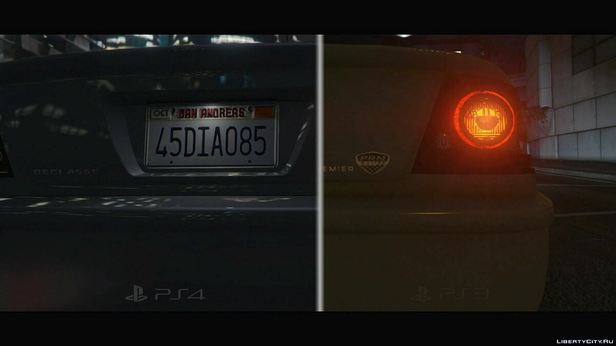 Comparison of GTA 5 for PS3 and PS4 (1080p) for GTA 5 - screenshot #6