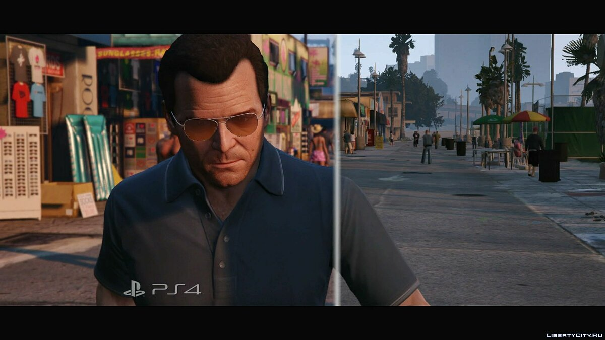 Video Comparison of GTA 5 for PS3 and PS4 (1080p) for GTA 5
