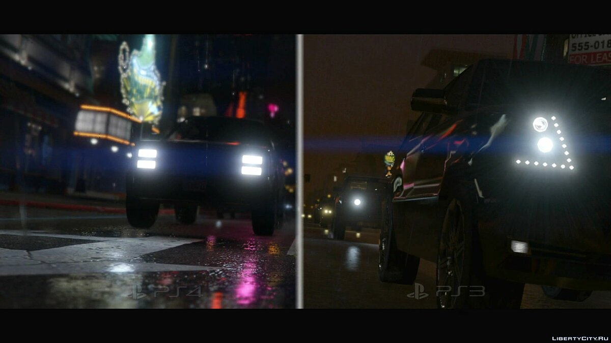Comparison of GTA 5 for PS3 and PS4 (1080p) for GTA 5 - screenshot #7