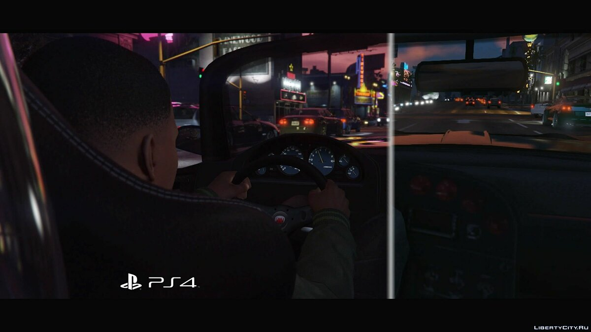 Comparison of GTA 5 for PS3 and PS4 (1080p) for GTA 5 - screenshot #8