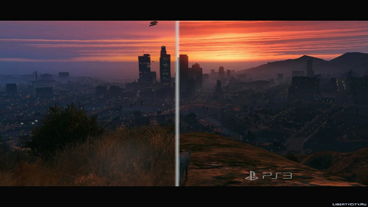 Comparison of GTA 5 for PS3 and PS4 (1080p) for GTA 5 - screenshot #9