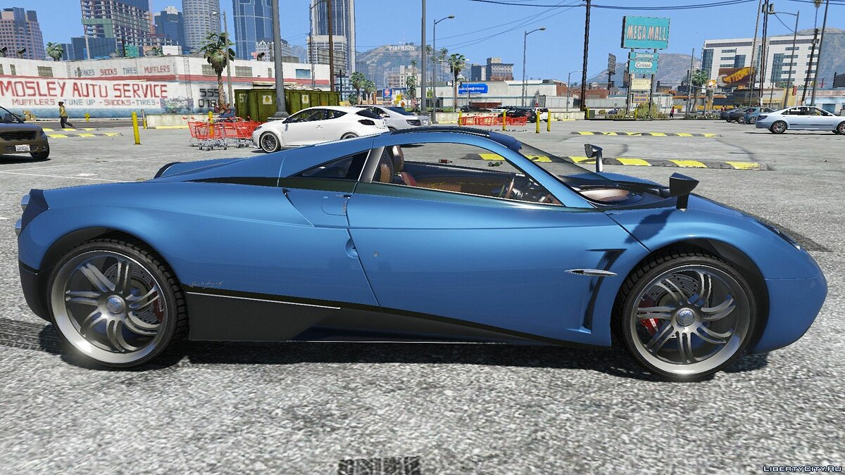 Pagani car 2012 Pagani Huayra 1.0 for GTA 5
