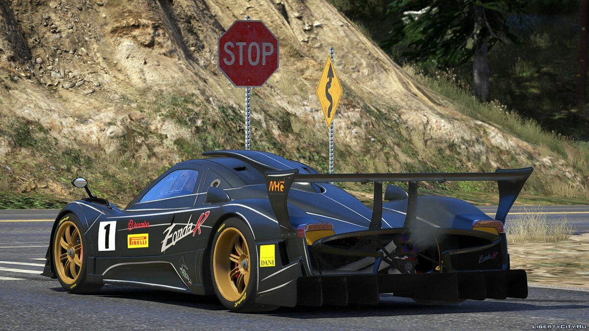 Pagani car 2012 Pagani Zonda R [Add-On / Replace | Liveries | Template] 1.0 for GTA 5