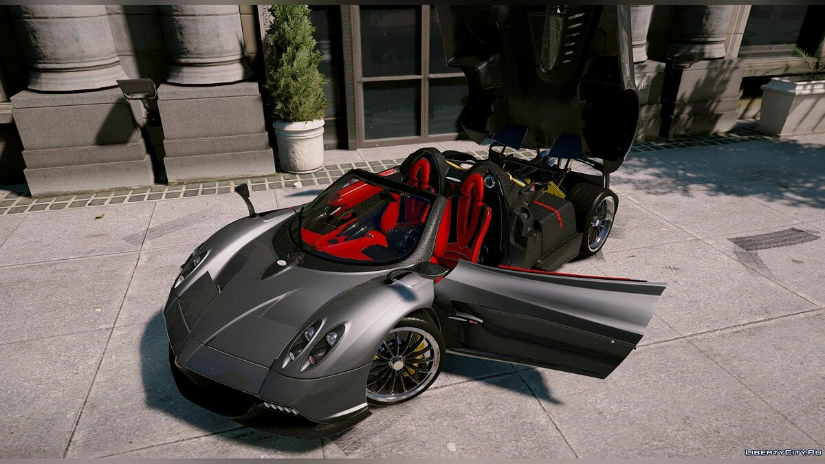 Pagani car 2018 Pagani Huayra Roadster [Aero Flaps] [Add-On] 1.0 for GTA 5
