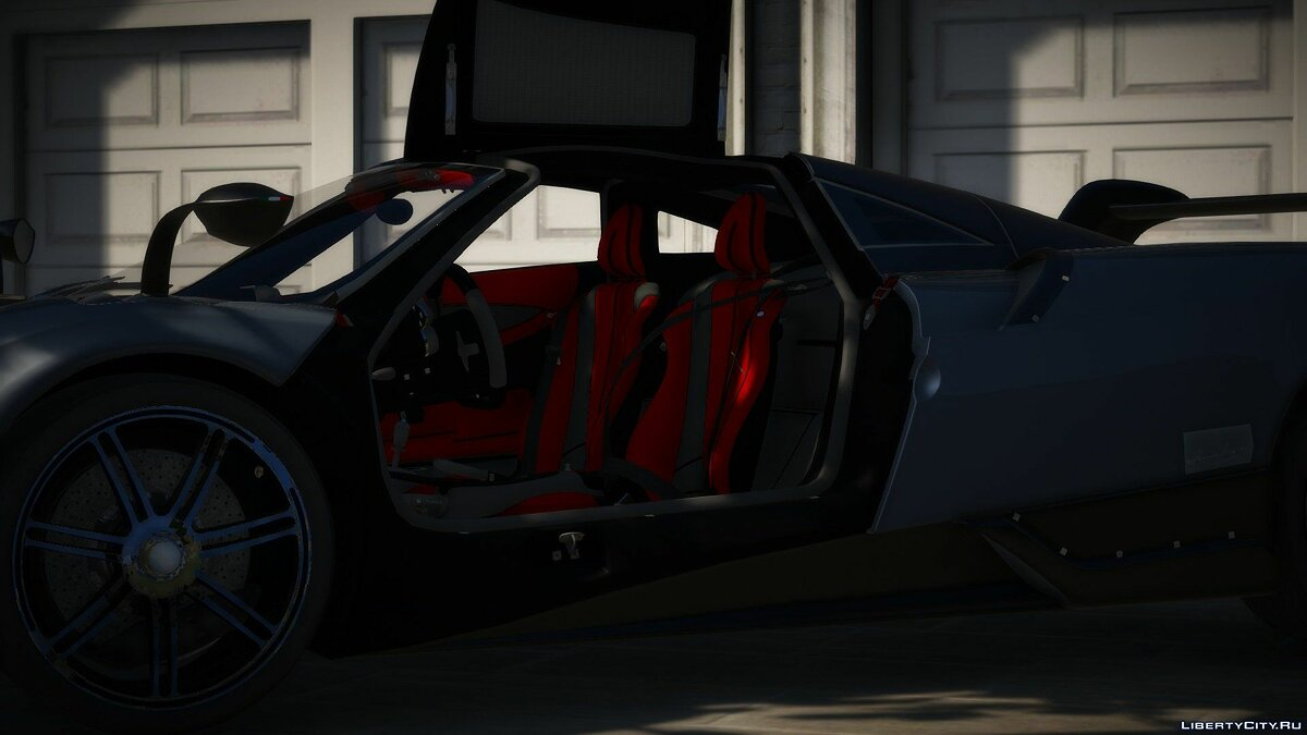 Pagani car 2016 Pagani Huayra BC 1.0 for GTA 5