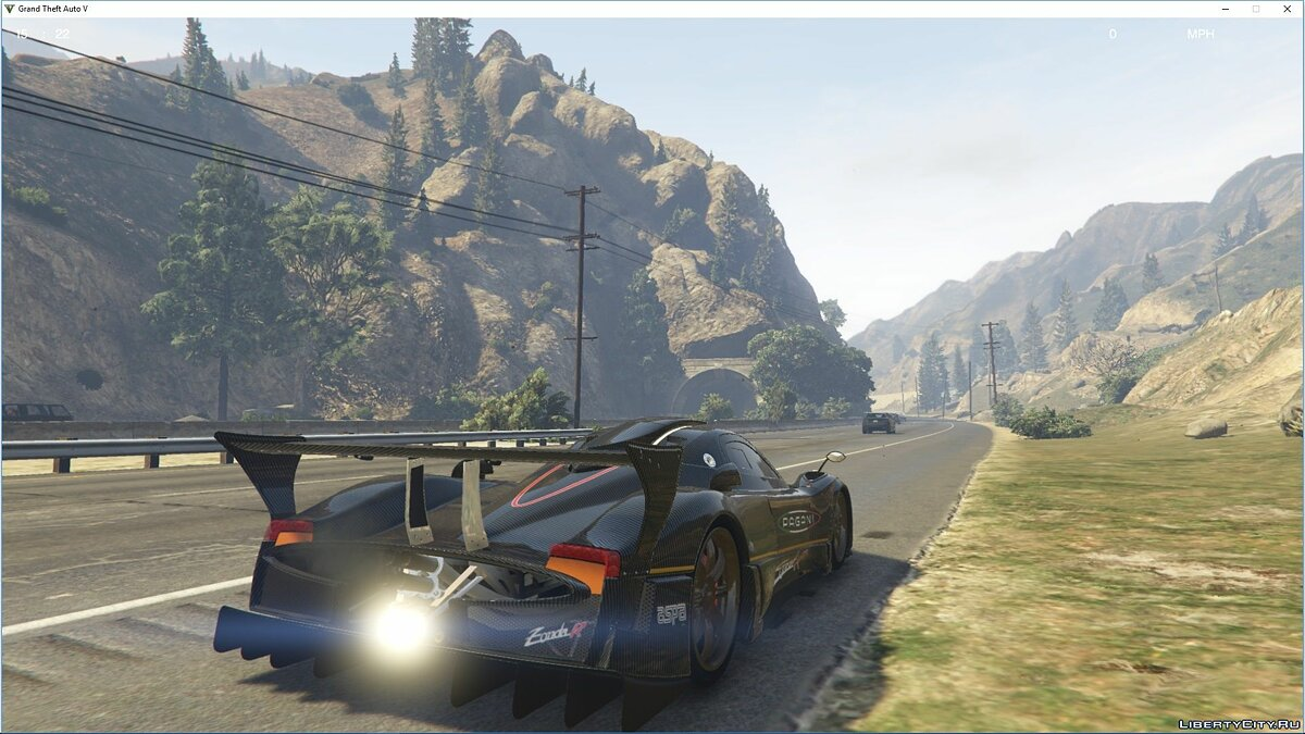 Pagani car Pagani Zonda R [Add-On | Replace | Template] 1.0 for GTA 5