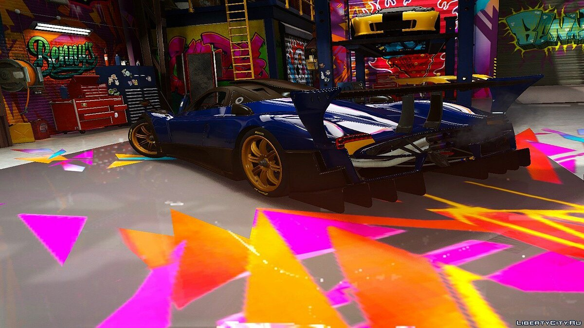 Pagani car Pagani Zonda R [Add-On | HQ] for GTA 5