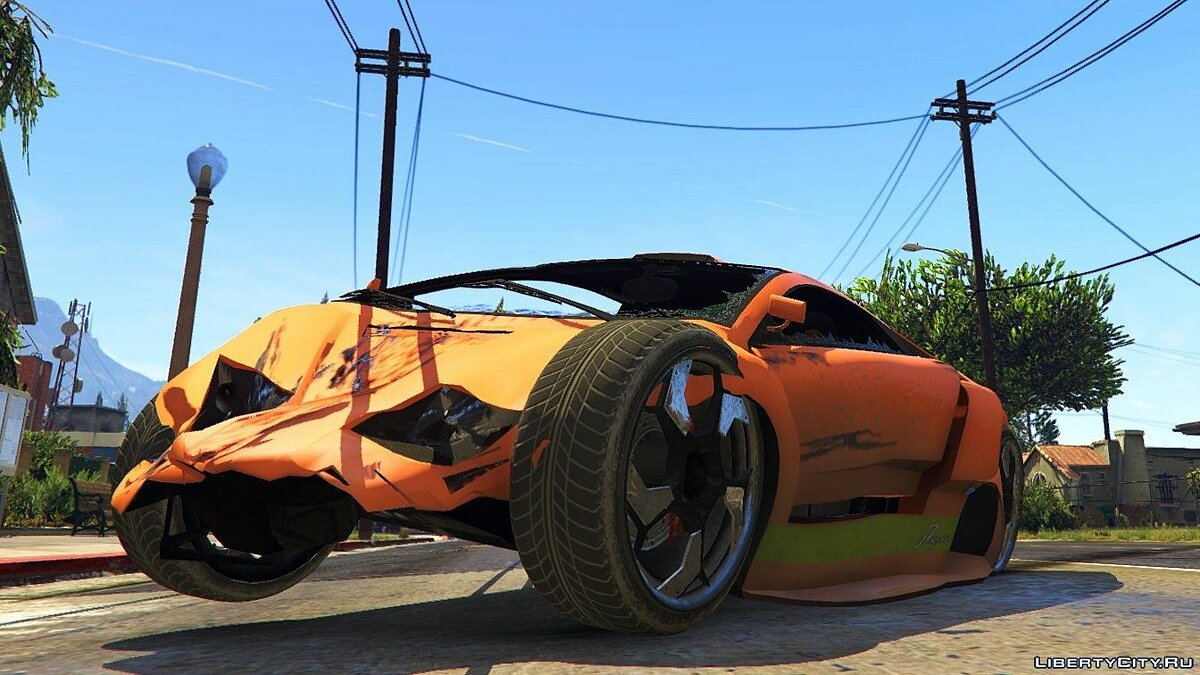 GTA IV Vehicle Damage Handling Deformation for GTA 5