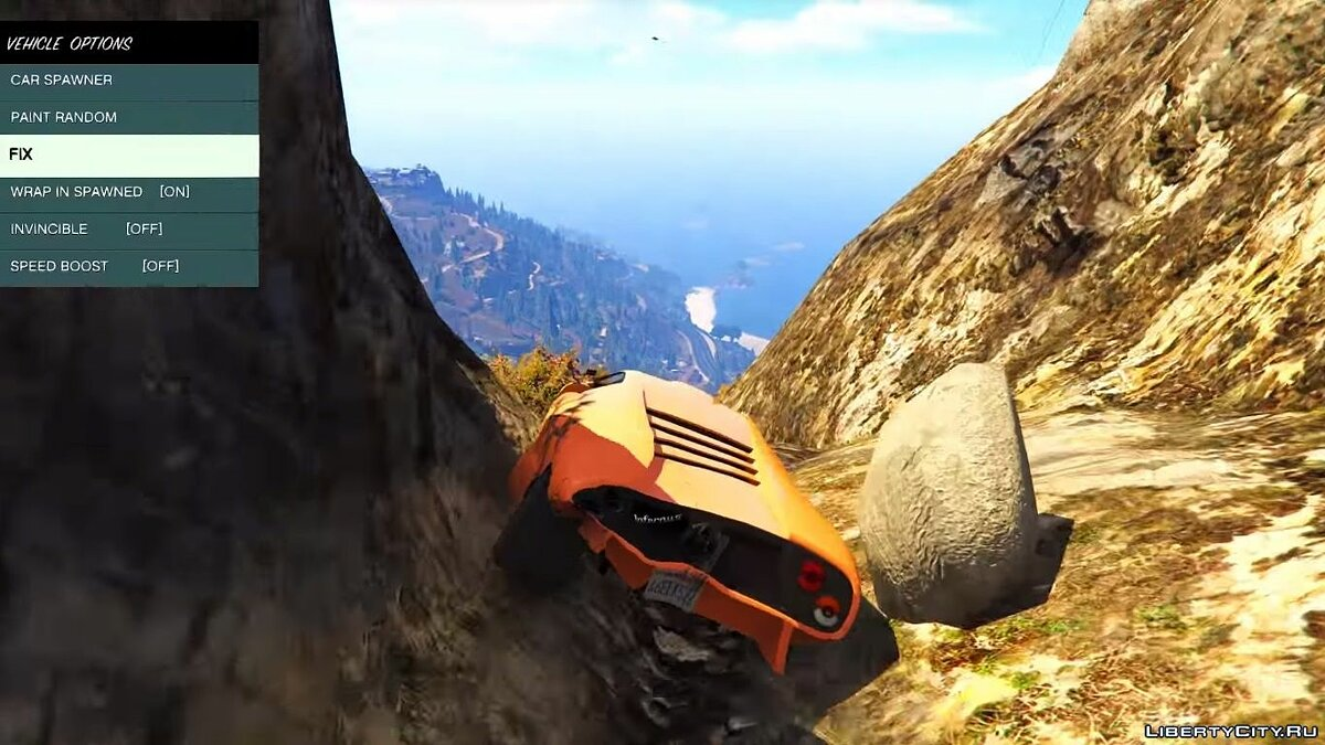 GTA IV Vehicle Damage Handling Deformation for GTA 5 - screenshot #4