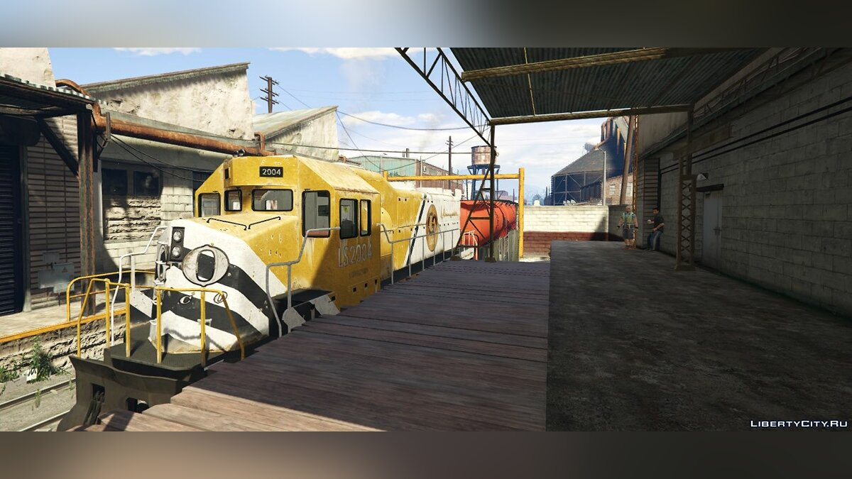 Mod Freight Train Extended - East LS for GTA 5