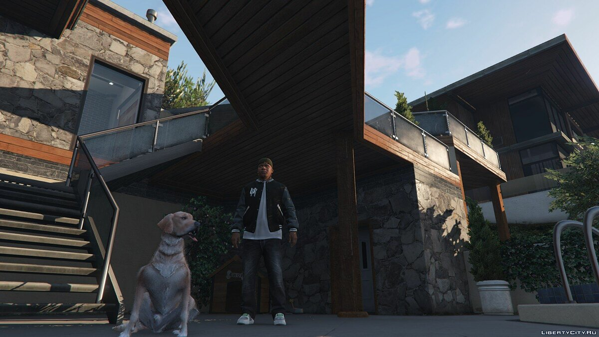 Golden Retriever Pet Mod for GTA 5 - Картинка #1