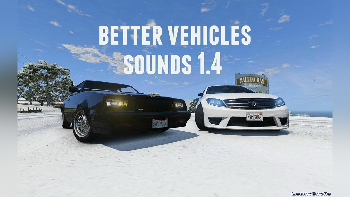 Better vehicles sounds 1.4 for GTA 5 - Картинка #1