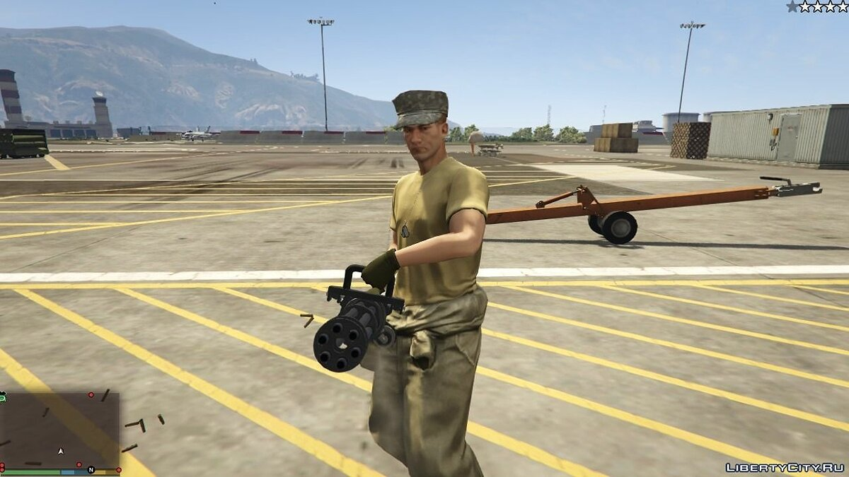 Cops / Police / SWAT / Army have Miniguns 1.0 for GTA 5 - screenshot #3