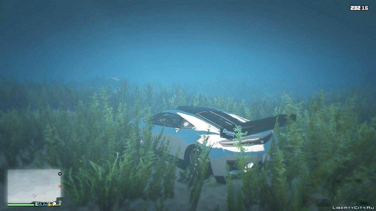 Driving a car under water (Updated for PC) for GTA 5