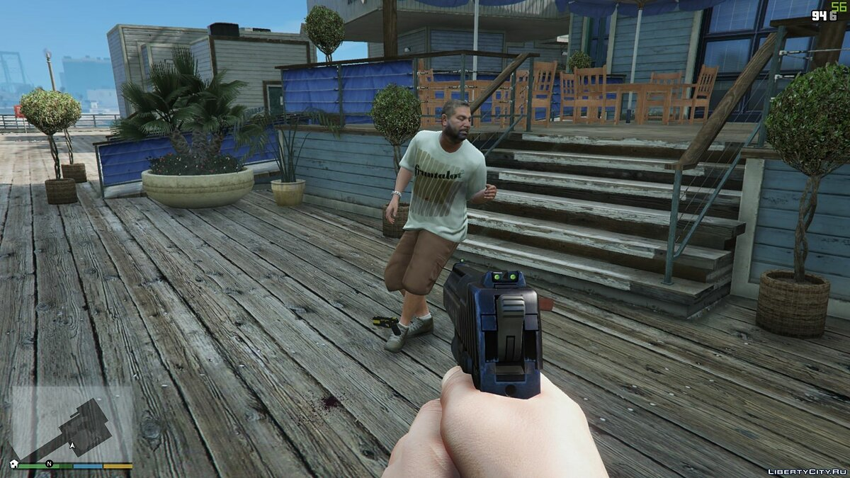 Mod New anatomy of movements based on Ragdoll characters for GTA 5