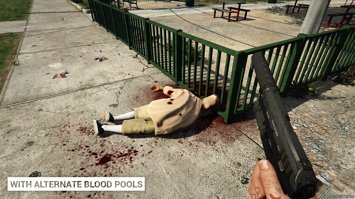 Alternate Blood Pools 1.0 for GTA 5