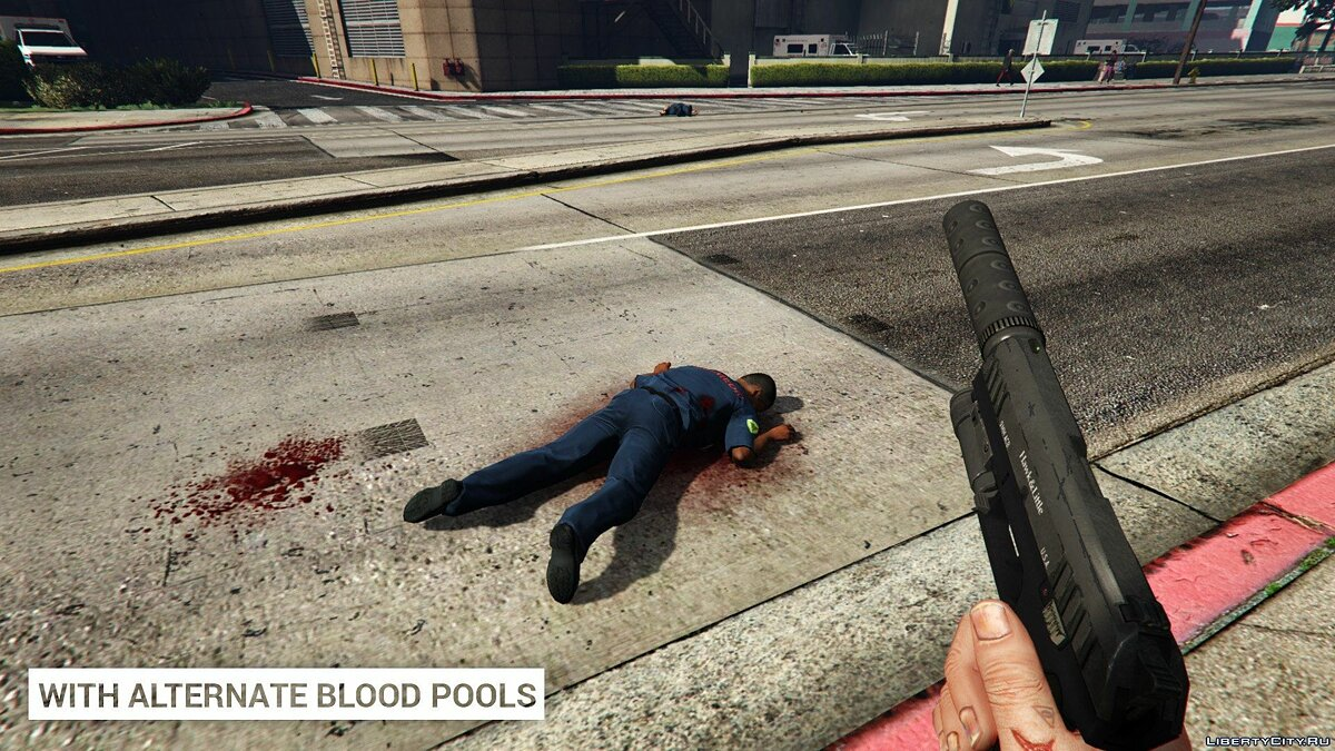 Alternate Blood Pools 1.0 for GTA 5 - screenshot #2