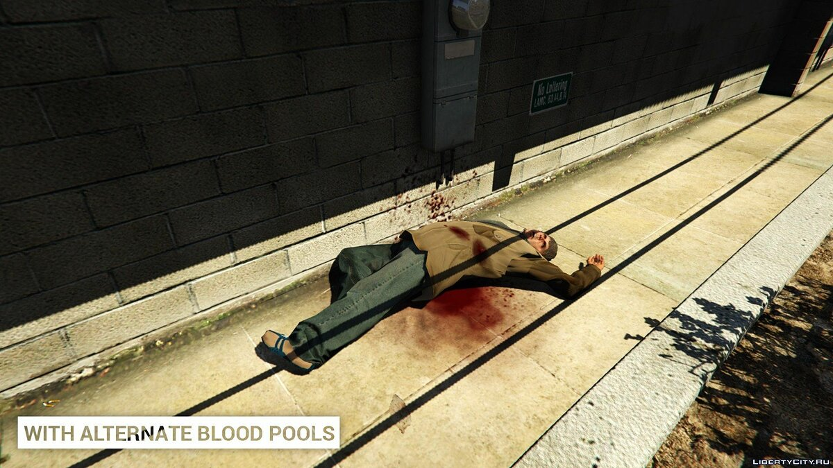 Alternate Blood Pools 1.0 for GTA 5 - screenshot #3