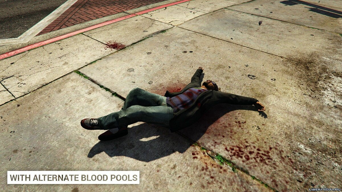 Alternate Blood Pools 1.0 for GTA 5 - screenshot #4