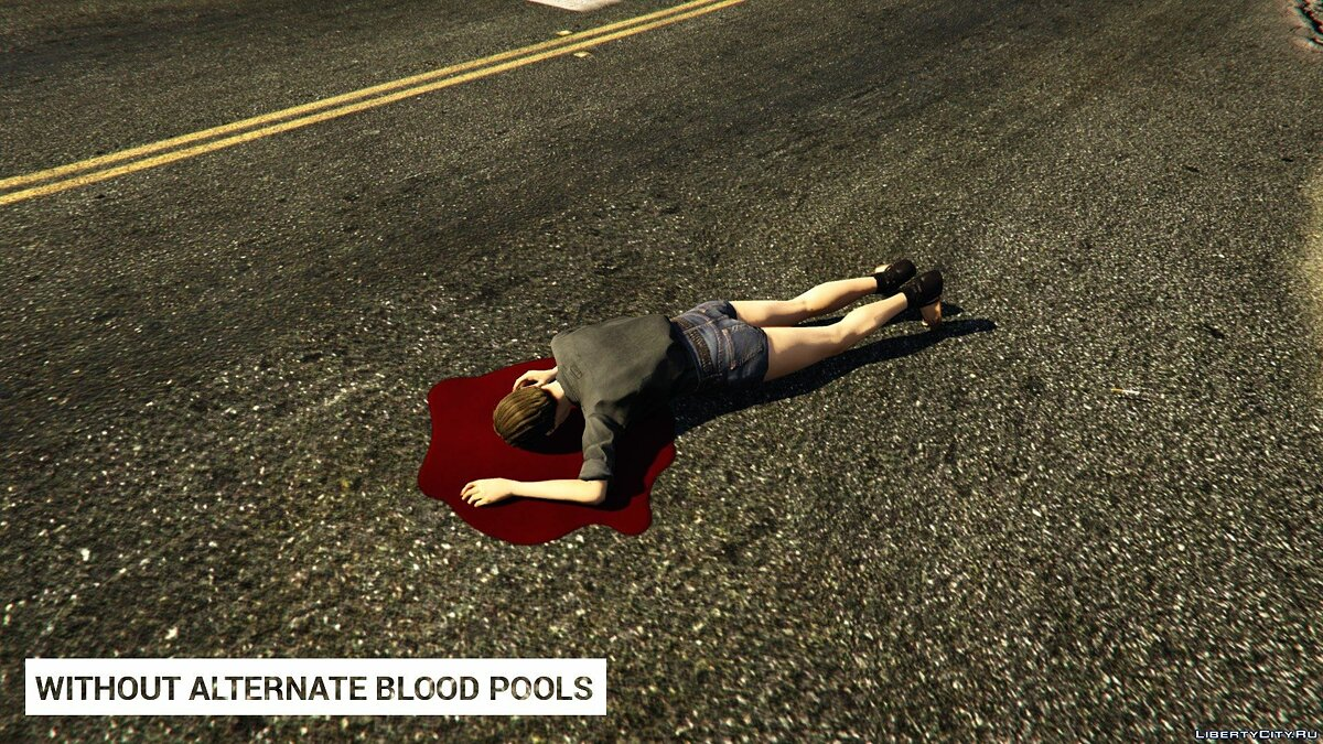 Alternate Blood Pools 1.0 for GTA 5 - screenshot #5