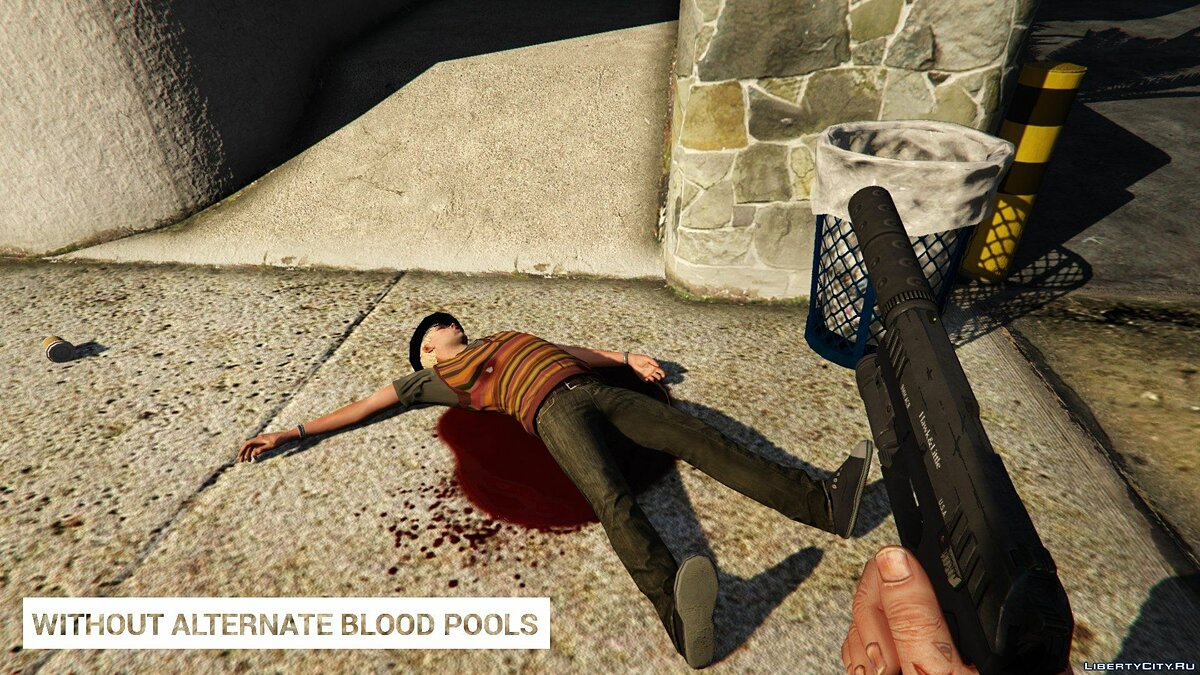 Alternate Blood Pools 1.0 for GTA 5 - screenshot #6