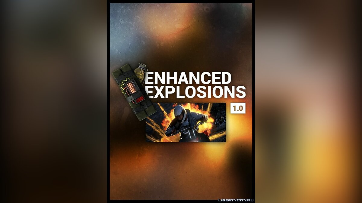Enhanced Explosions 1.0 for GTA 5