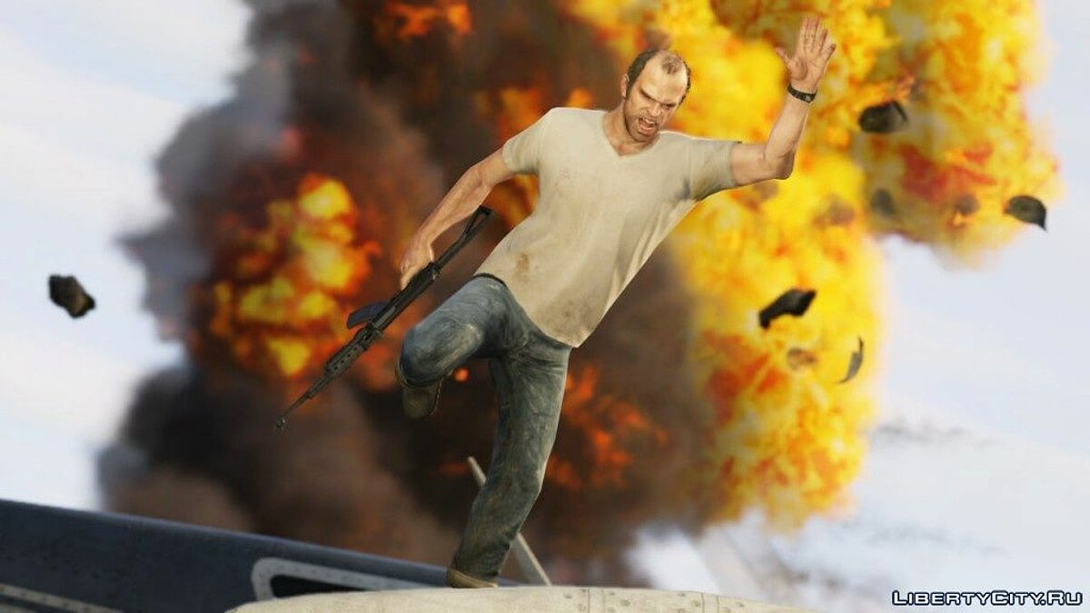 Mod Realistic Explosions for GTA 5