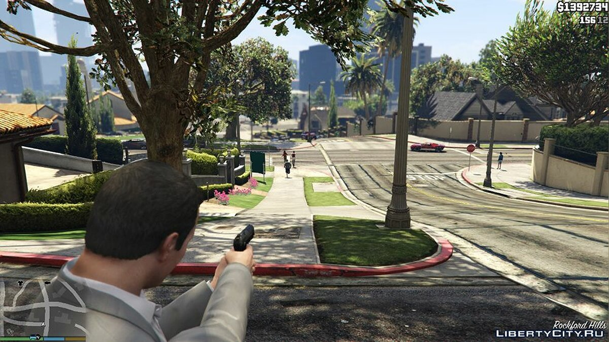 Mod Remove sight from weapon for GTA 5