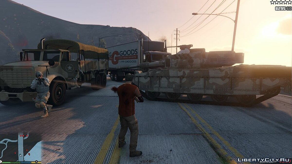 Mod Military instead of police for GTA 5