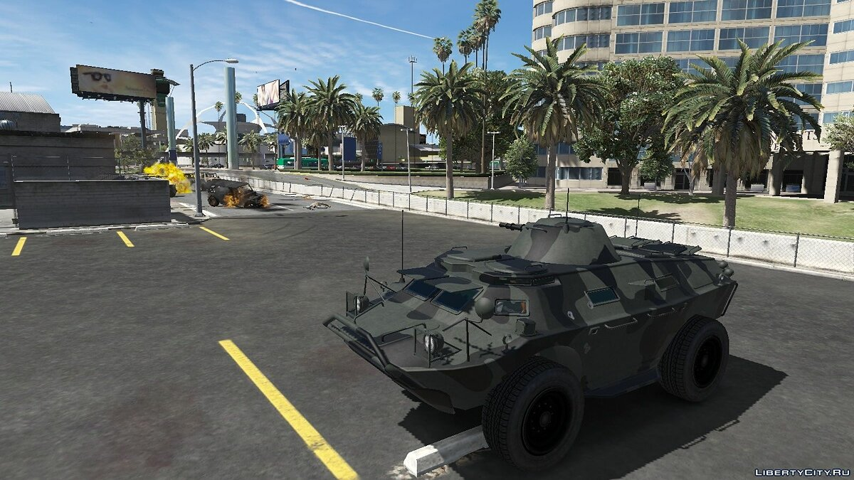 Mod Control Weapon on HVY APC 1.0 - Operating APC rocket launcher for GTA 5