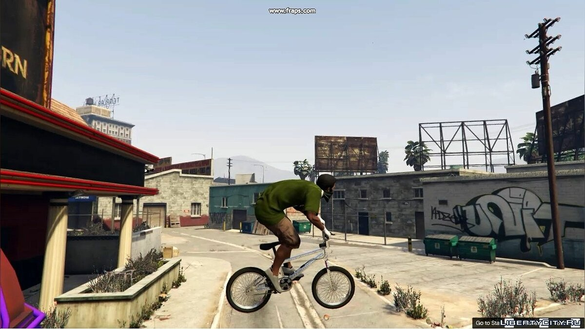 Perfect Bmx handling 1.0 for GTA 5
