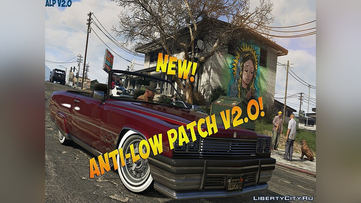Patch Anti-Low Patch v2.0 for GTA V PC for GTA 5