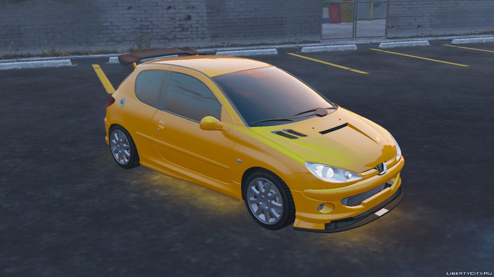 Peugeot 206 GTi [Add-On | Tuning] [FINAL] for GTA 5