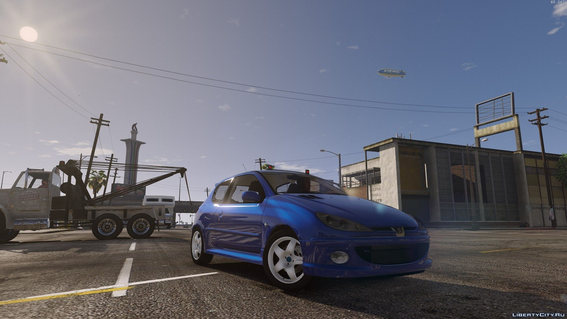 Peugeot 206 Rc Gti Add On Beta 0 1 For Gta 5