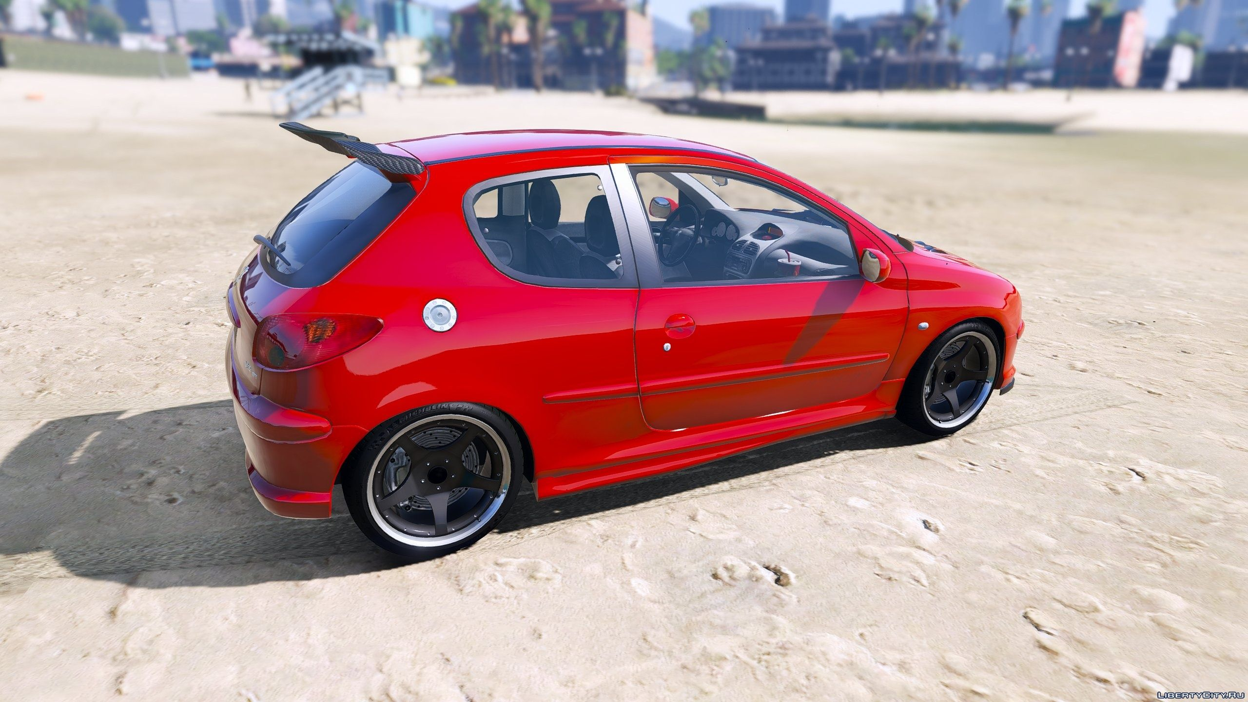 Peugeot 206 Gti Add On Tuning Oiv Final For Gta 5