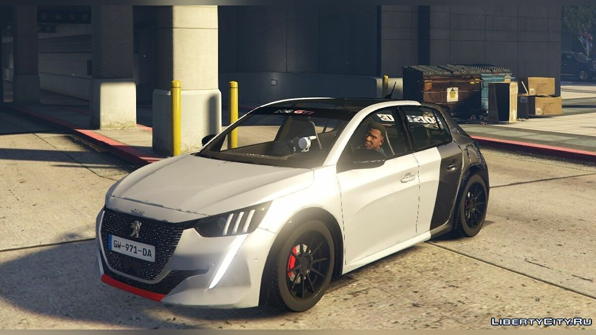Peugeot car Peugeot 208 GTI 2021 (Add-on / Replace) 2.1 for GTA 5