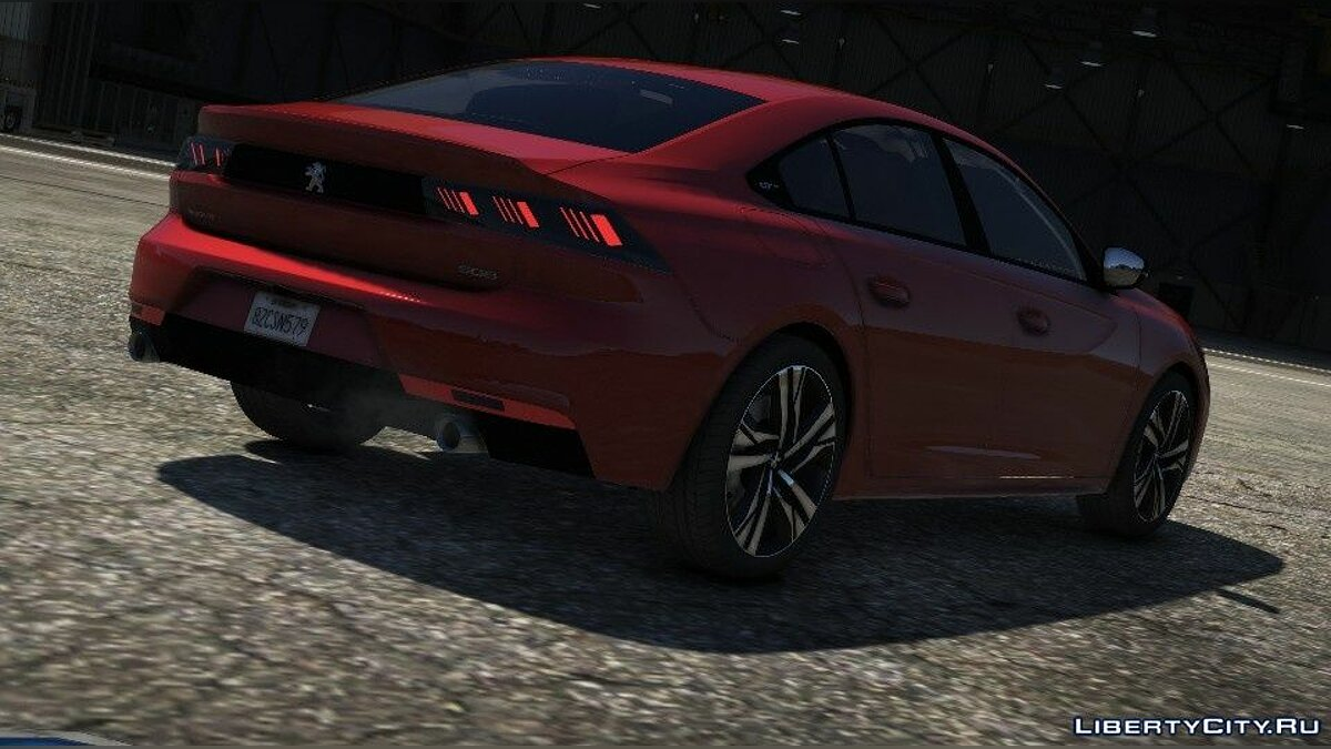 Peugeot car Peugeot 508 GT 2019 [Add-On] for GTA 5