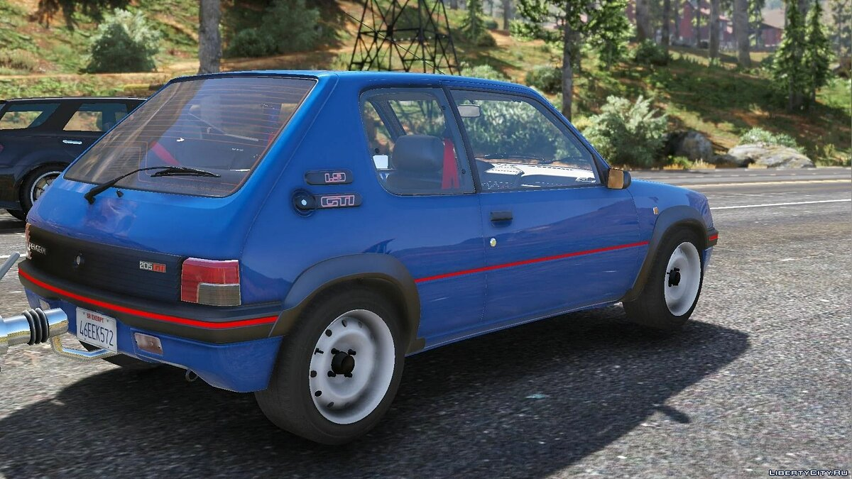 Peugeot car 1991 Peugeot 205 Rallye [Add-On | Extras | Tuning] 1.0 for GTA 5