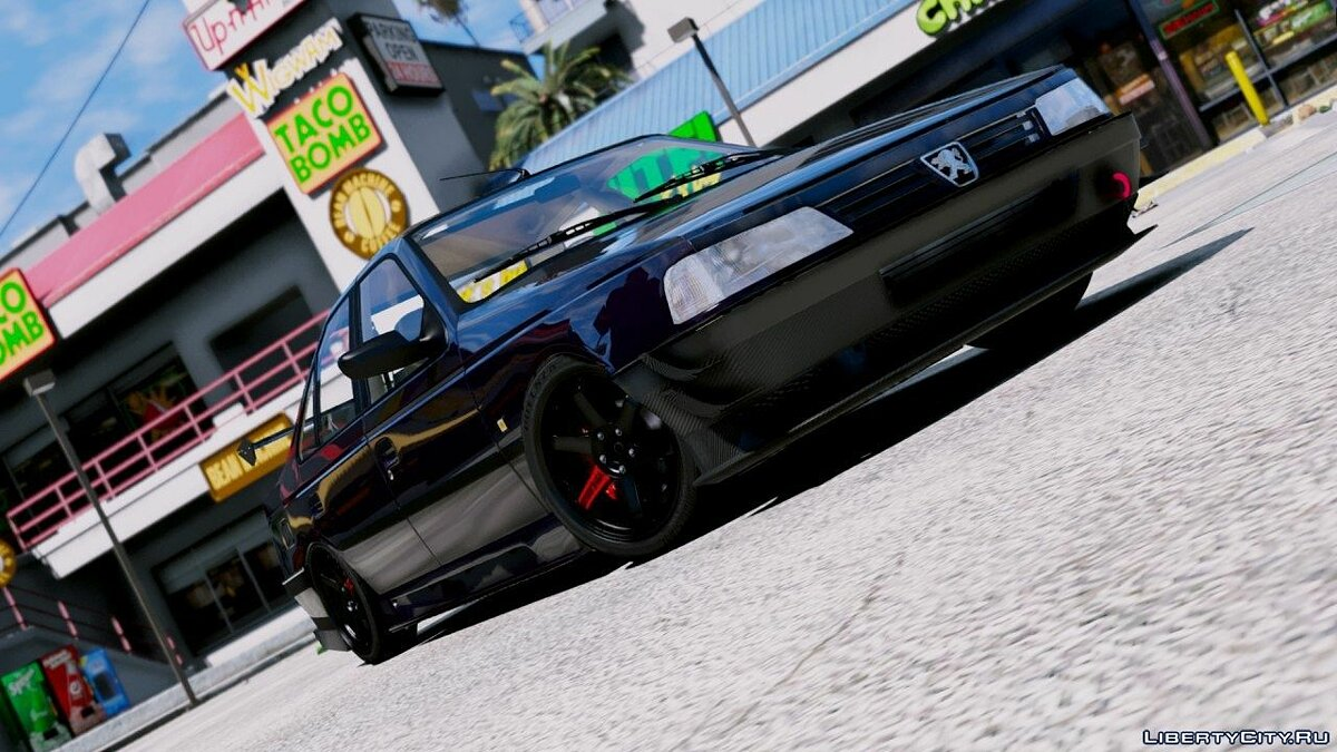 Peugeot car Peugeot 405 GLX [add on / oiv / tuning / anmited] 0.1 for GTA 5