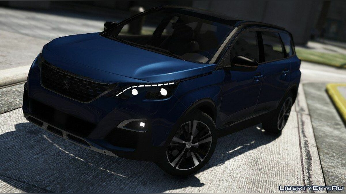Peugeot 5008 2018 [Add-On] 1.0 for GTA 5