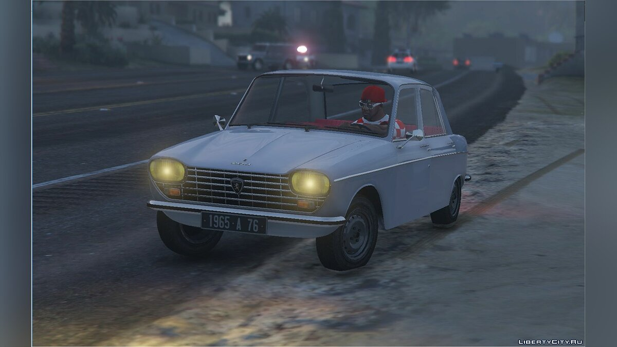 Peugeot car PEUGEOT 204 [Add-On] 1.0 for GTA 5