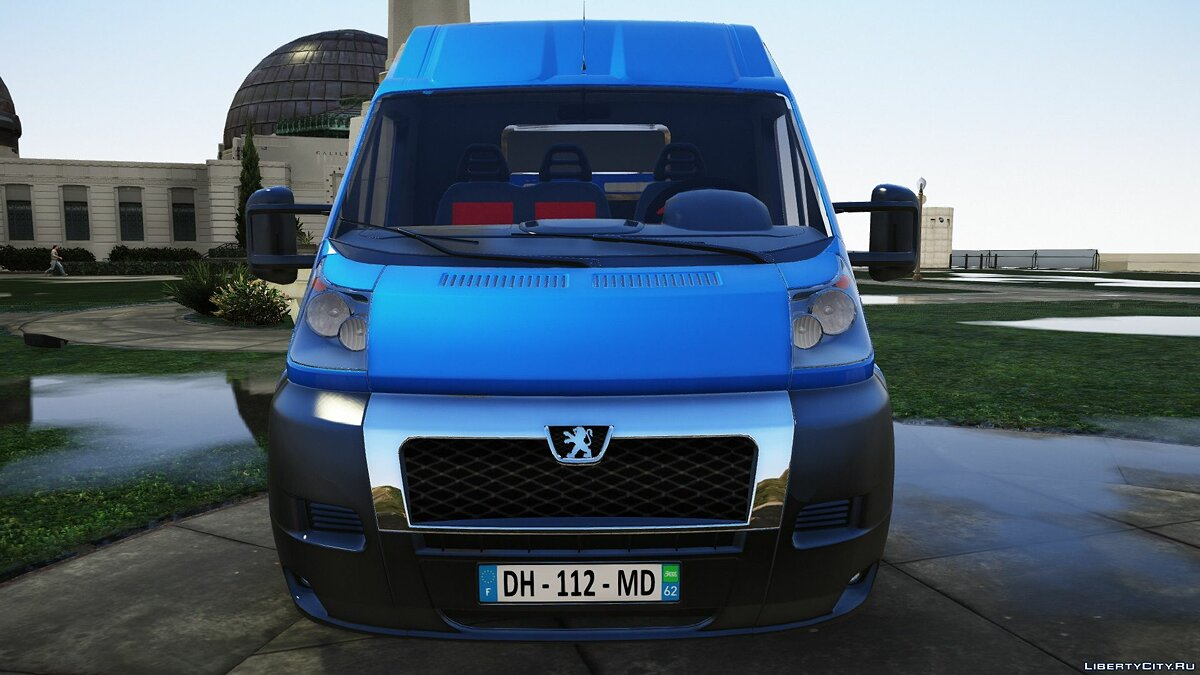 Peugeot car Peugeot Boxer [Replace] 1.0 for GTA 5